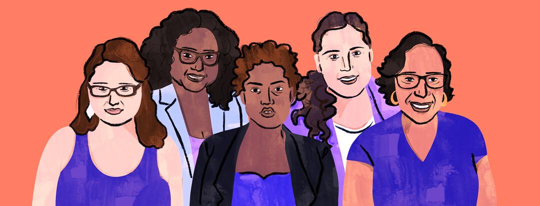 A portrait of all five lupus.net advocates