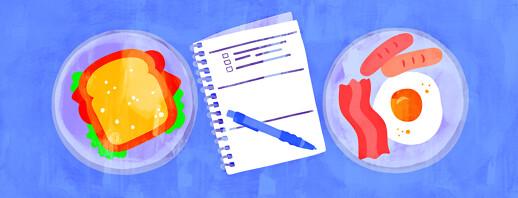 Food Journaling to Decrease Flares image